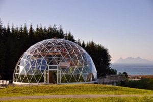 Sustainable living under glass?