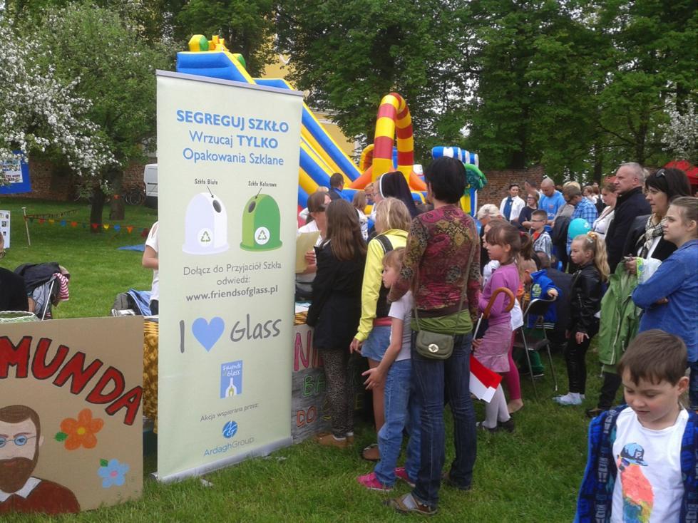 Przyjaciele Szkła (Friends of Glass) dołączają do Eko-Festynu.