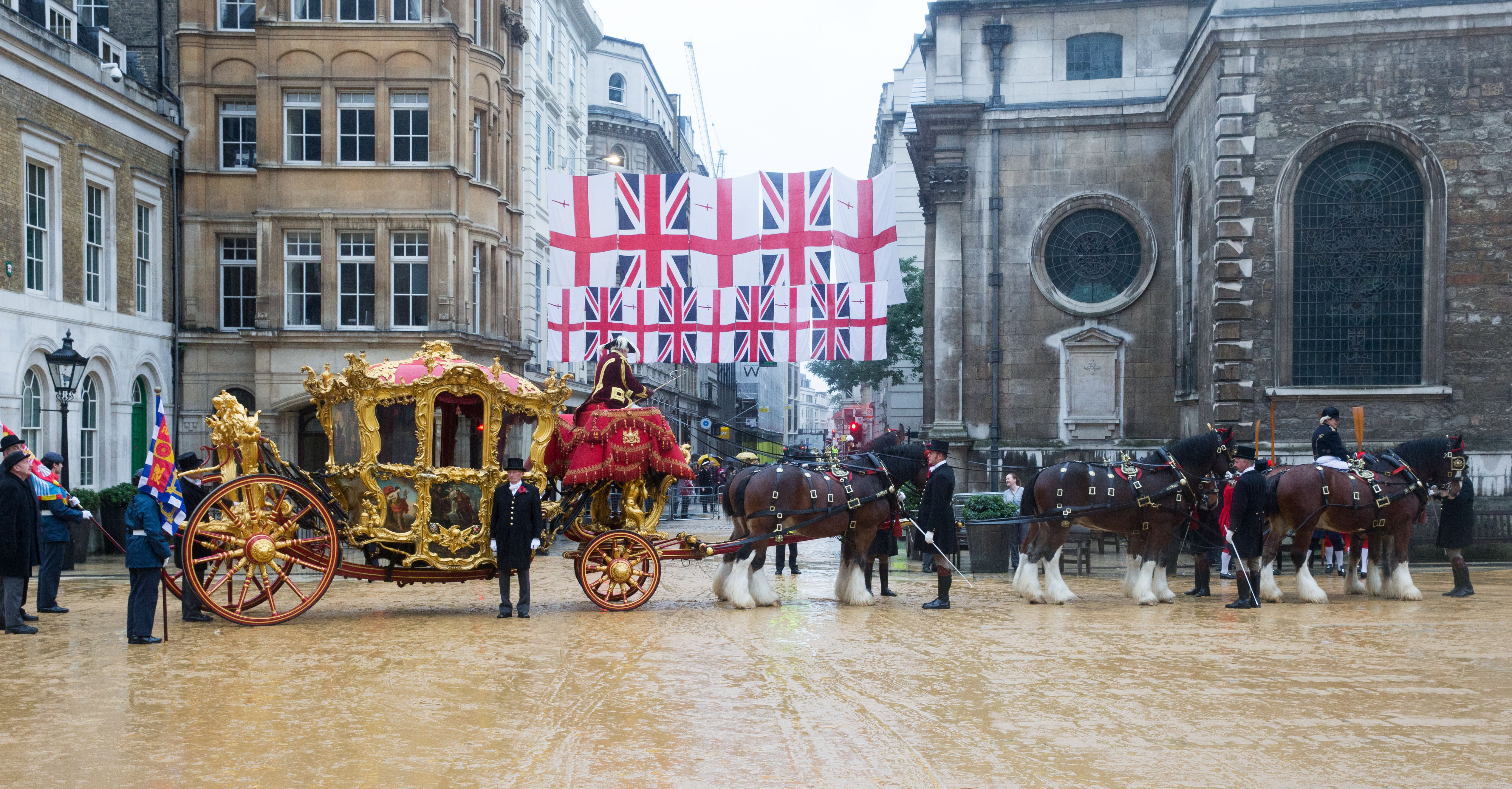 lord mayors show 1936 - HD5071×2646