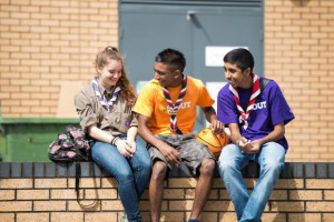 Be Prepared for Recycle Now's 'Ready, Set, Recycle' challenge with the Scout Association