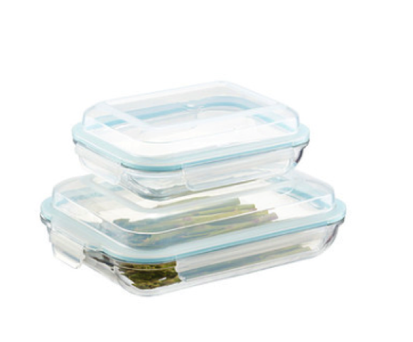IKEA Fortrolig Glass Storage Containers