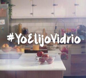 NUESTRA PRIMERA CAMPAÑA EN TELEVISIÓN: #YoElijoVidrio
