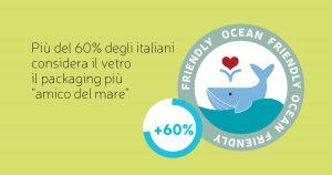 Per tutelare la salute dei mari Assovetro sigla una partnership con Legambiente