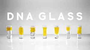 A DNA Beer Glass