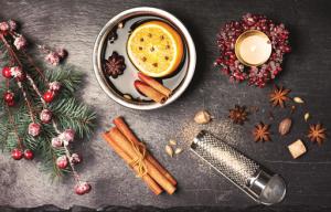Recette de Noël : le vin chaud épicé