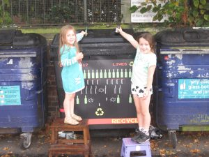 Friends of Glass UK recycling competition with Portsmouth City Council