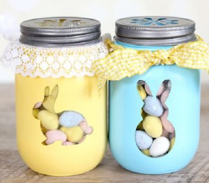 DIY Treat Jars for you this Easter