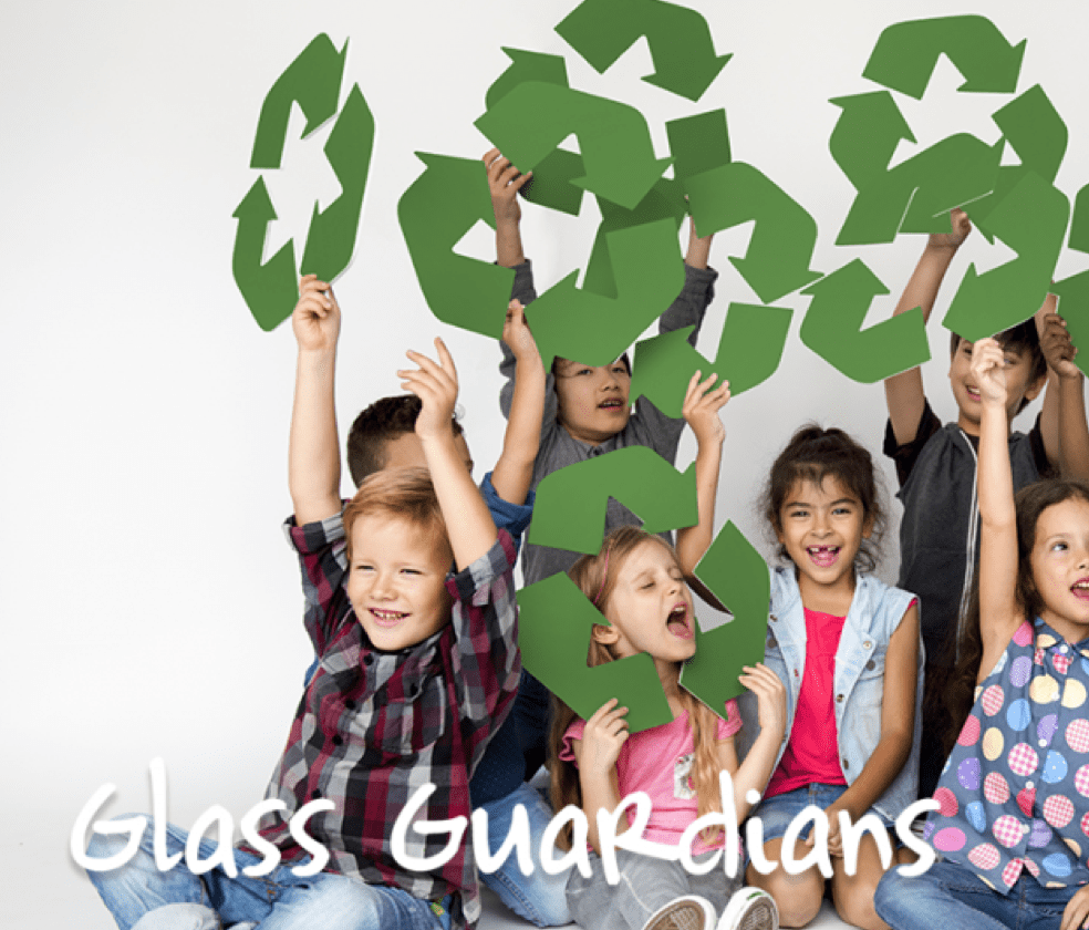 Friends of Glass support Recycle Week