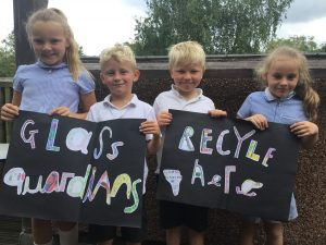 Recycle Week Case Study: St Helens CoE School, North Devon