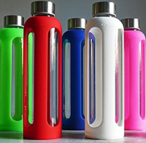 Glass water bottles perfect gift