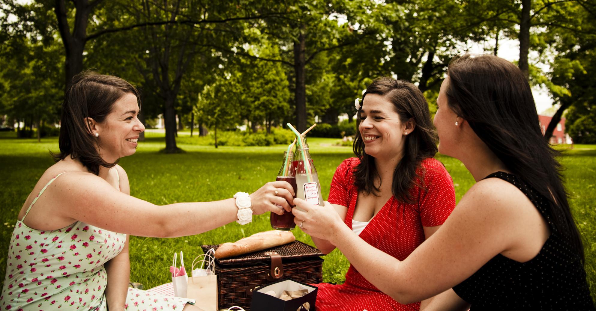Glas – der perfekte Picknickbegleiter