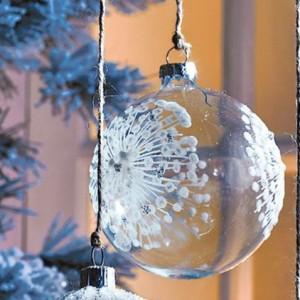 5 idées de décoration de Noël avec du verre